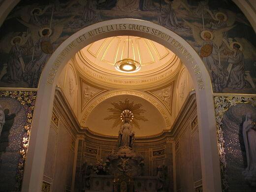 Chapelle Miraculeuse Medaille La Notre De Paris Dame