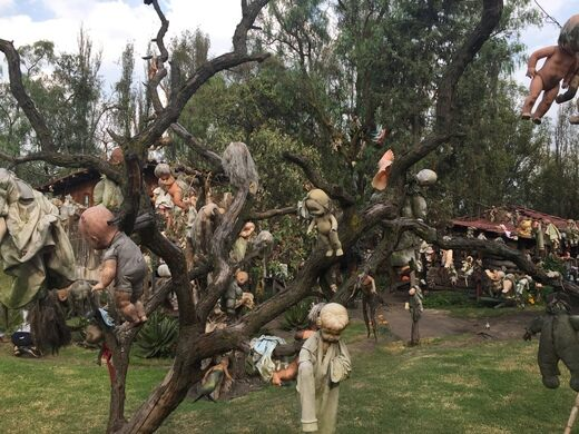 Image result for The Island of Dolls, Xochimilco (Mexico)