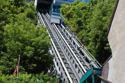 Image result for Ride the Old Quebec Funicular
