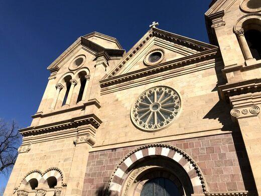 Tree Fe New Chapel Santa Mexico Loretto Rosary