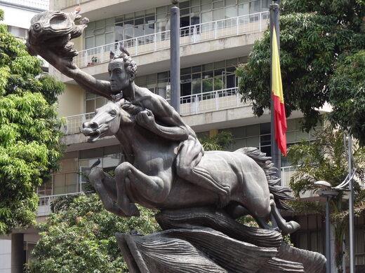 Image result for many simon bolivar statues together