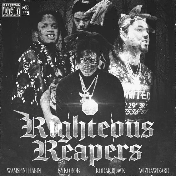 Kodak Black Ft. Sykobob, WizdaWizard & Wam SpinThaBin – Righteous Reapers mp3