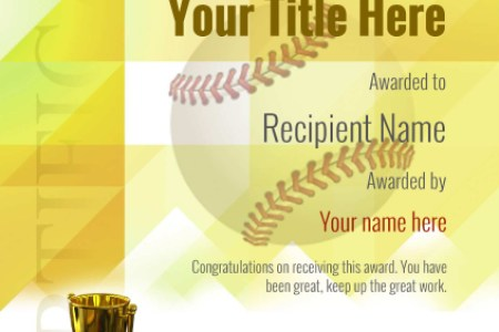 Use free Baseball certificate templates   by awardbox certificate template baseball thumbs modern 2yt5g Image
