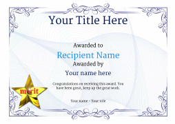 Free Certificate Templates Simple To Use Add Printable
