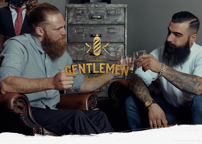 Gentlemen Barber Clubs Awwwards Nominee