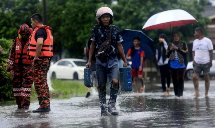 1,210 mangsa banjir di Johor, Pontian paling terjejas   Nasional ...