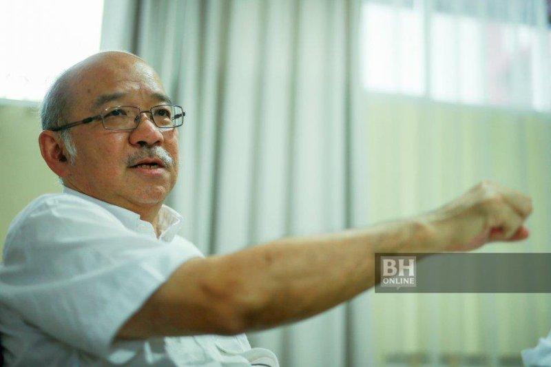 Presiden Parti Maju Sabah yang juga bekas Ketua Menteri Sabah, Datuk Yong Teck Lee. - NSTP/Aswadi Alias
