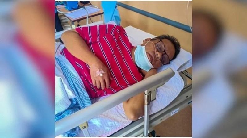 Dikesan menghidap barah usus, Julai lalu, Pak Lah yang dirawat di Hospital Sultanah Nur Zahirah di Kuala Terengganu, memerlukan 12 sesi rawatan kimoterapi. Foto IG Pak Lah Cecupak