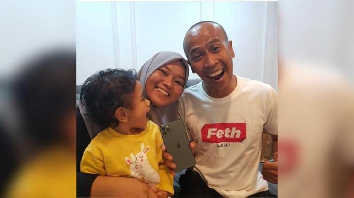 Keluarga bahagia Achey. Foto IG Achey