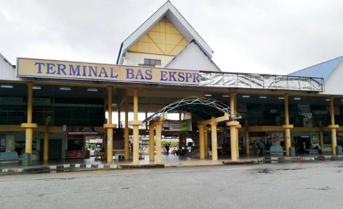 Terminal bas teruk, tak diselenggara   Nasional   Berita Harian