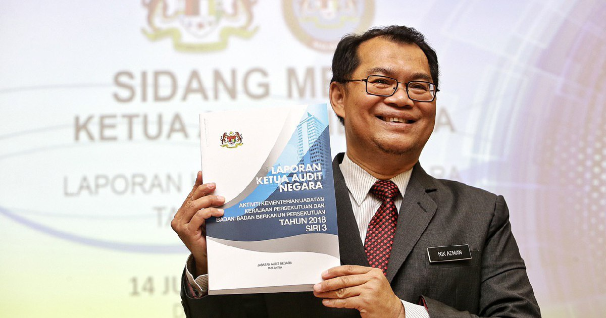 Laporan Ketua Audit Negara 2018