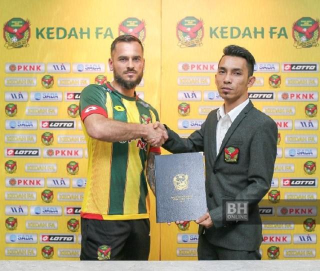 Kedah Ikat Pemain Kyrgyzstan Bola Berita Harian