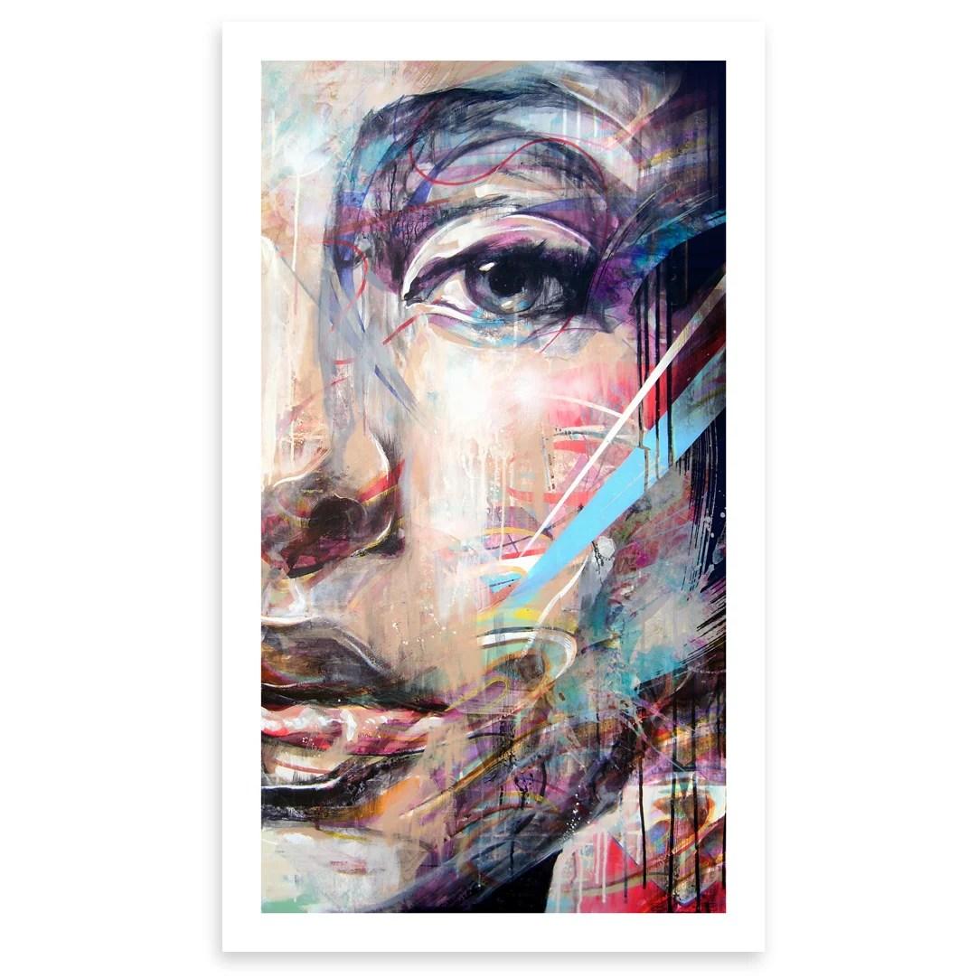 Half Portrait Open Edition Print Doc Art