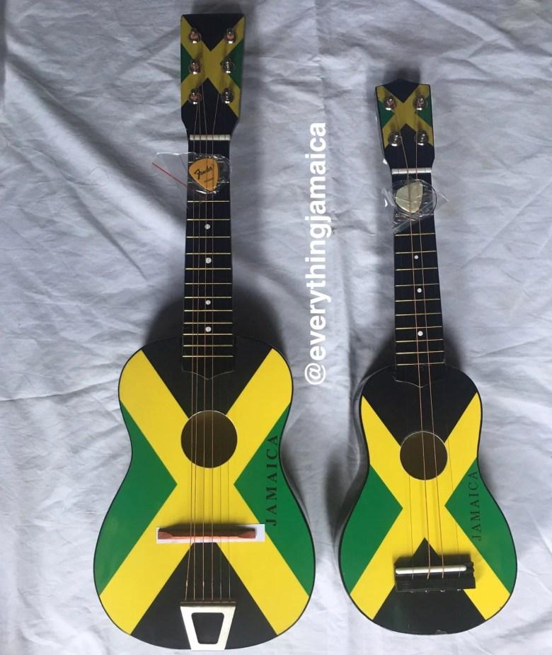 jamaica flag guitar | everything jamaica