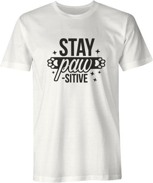 Download Stay Pawsitive | Doin' Tees