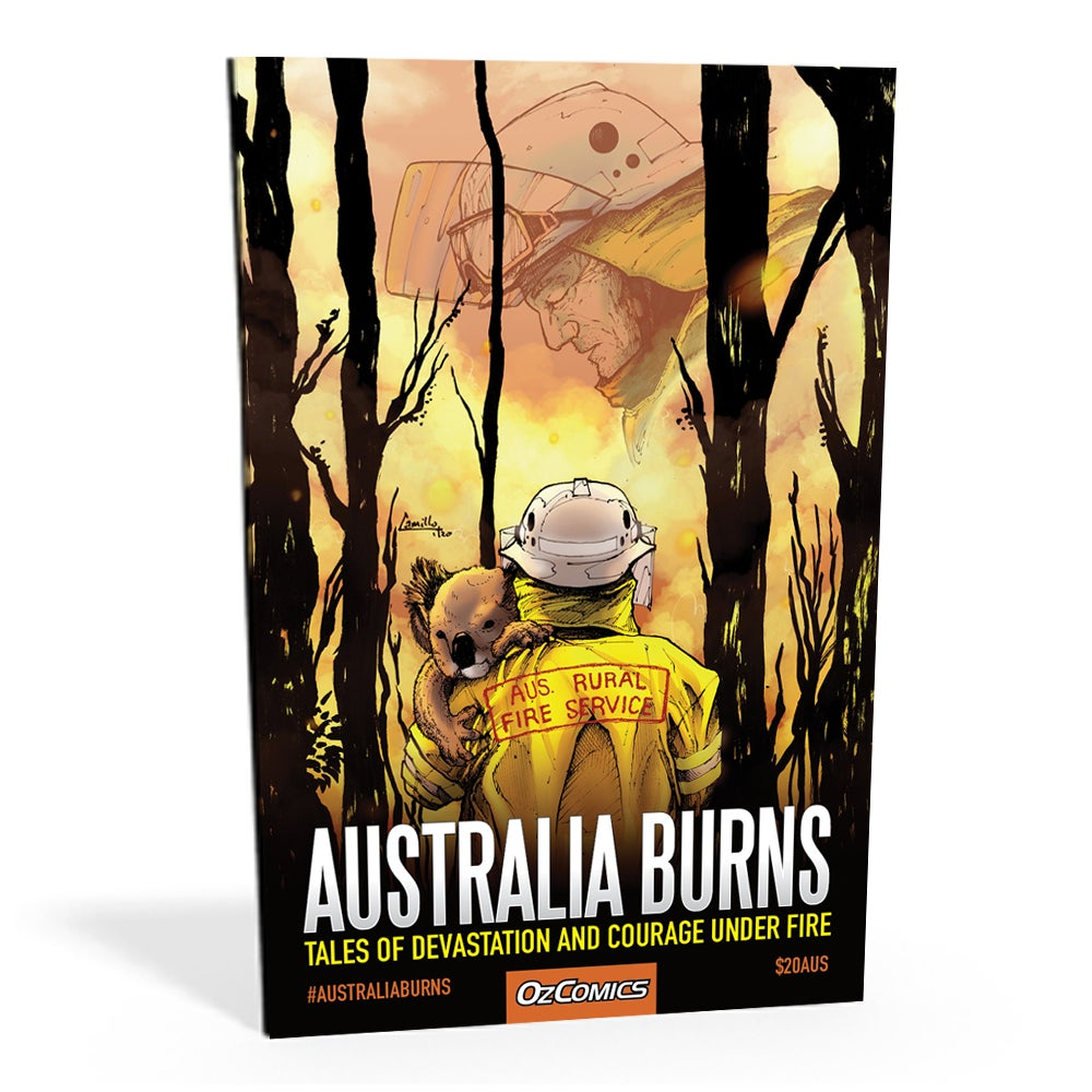 Australia Burns Anthology