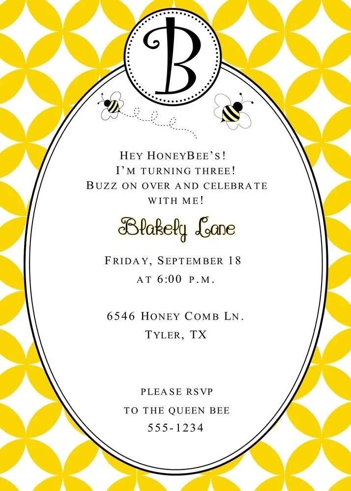 dandi designs bumble bee birthday