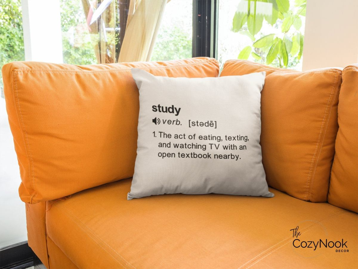 study pillow cover printed pillow cover throw pillow cover for couch