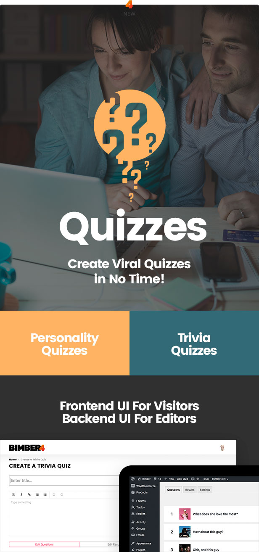 Viral quizzes