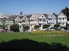 San Francisco Victorian homes