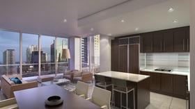 Interior rendition of 1100 Millecento Residences
