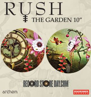 rushgarden10 600 - NEWS: Legendary Prog Rockers RUSH To Release 'The Garden' 10-Inch Picture Disc