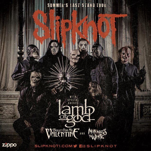 Slipknot Announces Summers Last Stand Tour With Lamb Of
