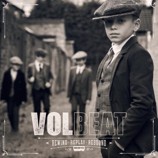 硬搖滾 狂音樂團 Volbeat 將於8月推出專輯《Rewind, Replay, Rebound》 1