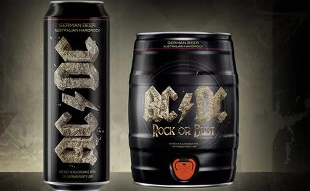 AC/DC Launches 'Rock Or Bust'-Inspired Beer