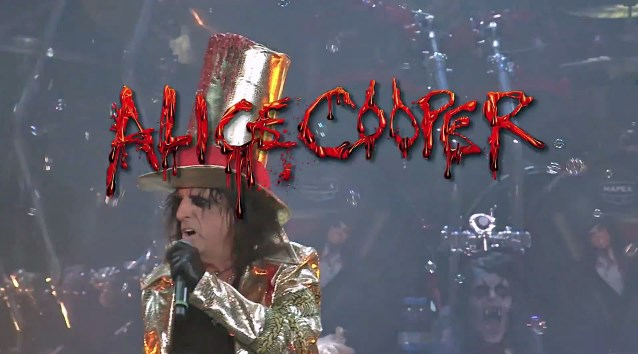 ALICE COOPER Pay-Per-View Event Scheduled For Next Month