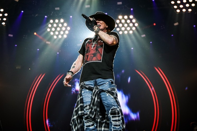 AXL ROSE Releases Official Video For First New Song In 10 Years, 'Rock The Rock'