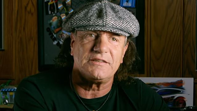AC/DC's BRIAN JOHNSON: 'I Had No Choice But To Stop Performing On Stage'