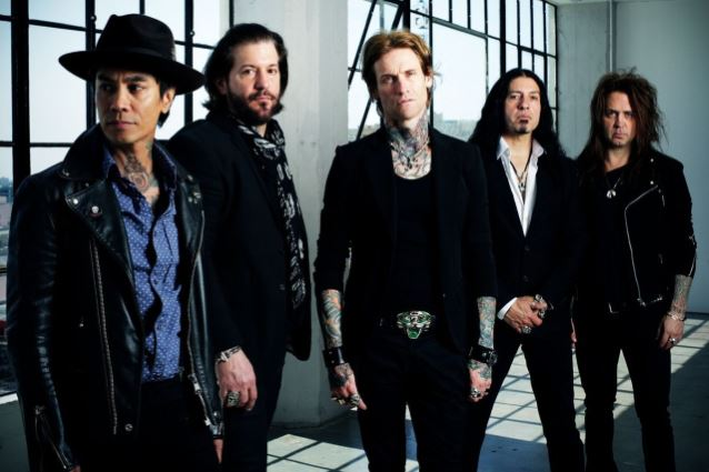 BUCKCHERRY Parts Ways With Guitarist KEITH NELSON, Drummer XAVIER MURIEL