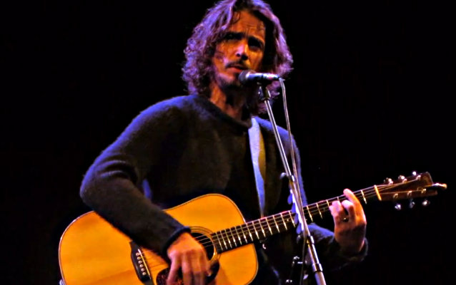 SOUNDGARDEN's CHRIS CORNELL Sets Release Date For 'Higher Truth' Solo Album, Announces North American Tour