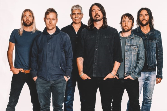 New FOO FIGHTERS Album Is 'Finished,' Says DAVE GROHL