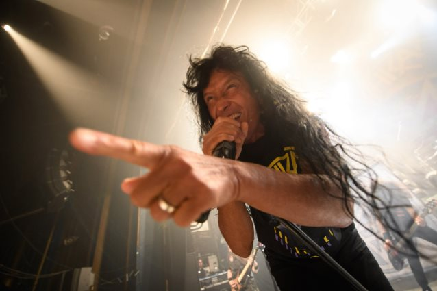 ANTHRAX: Tonight's Concert In Glasgow Filmed For Forthcoming DVD