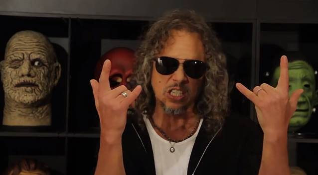 KIRK HAMMETT Confirms Identity Of METALLICA's New Album Producer
