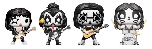 KISS: New 'Pop! Rocks' Figures From FUNKO Coming Soon