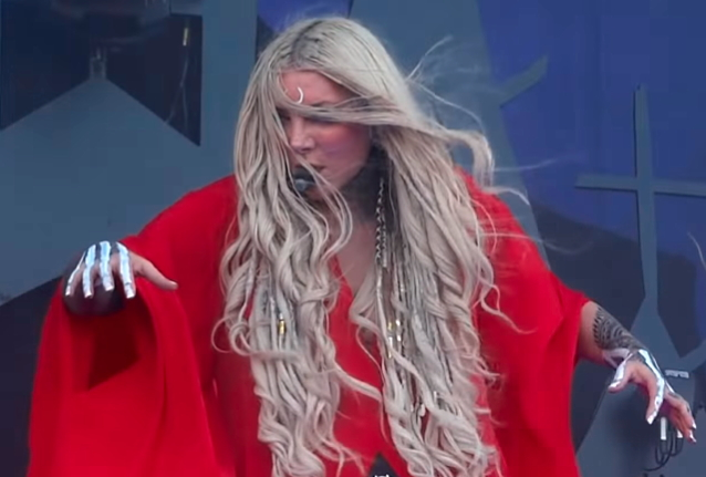 Watch IN THIS MOMENT's MARIA BRINK Perform RADIOHEAD, BILLIE EILISH Covers During First-Ever Solo Concert