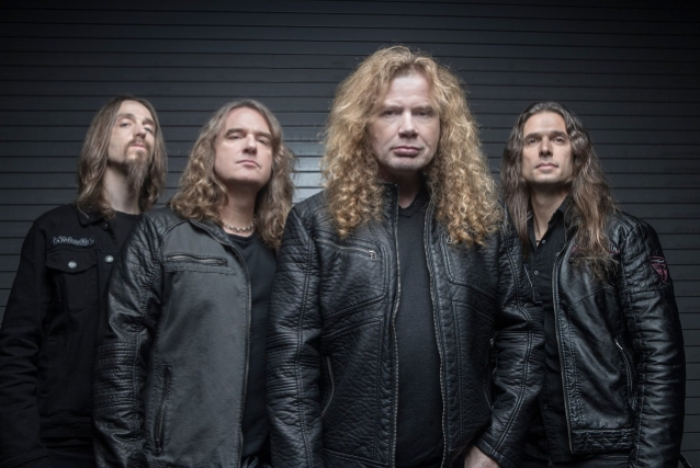 DAVE MUSTAINE Says MEGADETH Hopes To Release At Least Two New Songs Prior To Start Of European Tour