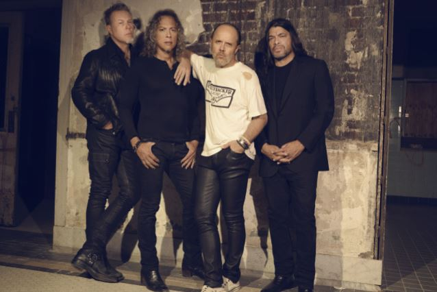 METALLICA Scores Ninth No. 1 On BILLBOARD's 'Mainstream Rock Songs' Chart With 'Atlas, Rise!'