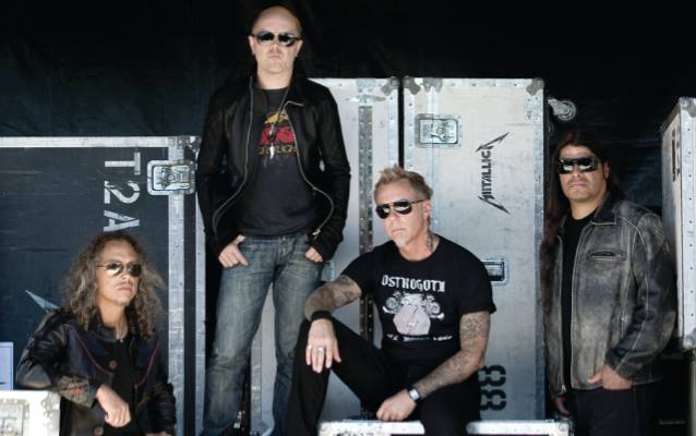 METALLICA Schedules Week of Performances On CBS' 'The Late Late Show With Craig Ferguson'
