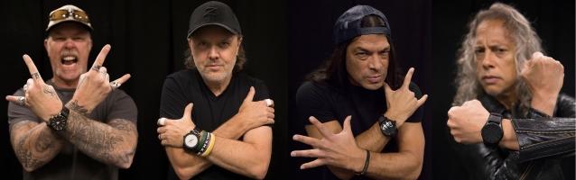 METALLICA anuncia tres adiciones a la colección de relojes 'Nixon x Metallica & # 39;