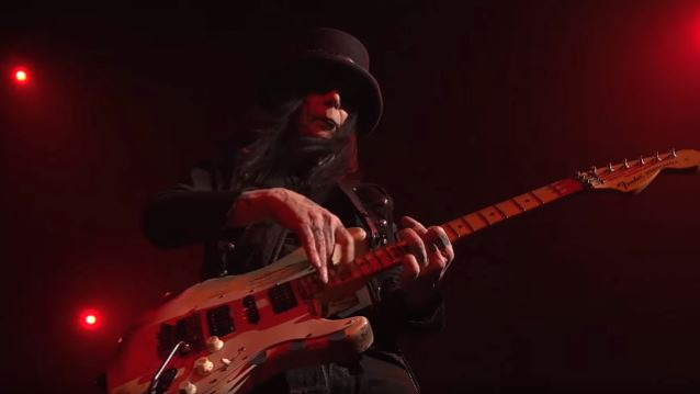 MÖTLEY CRÜE's MICK MARS Back In The Studio With Ex-CRÜE Singer JOHN CORABI