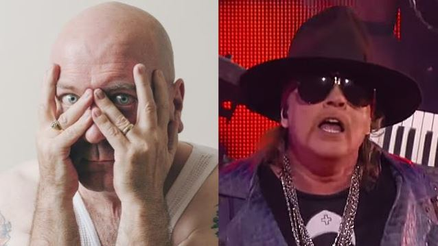 Rock Author MICK WALL Issues Challenge To AXL ROSE