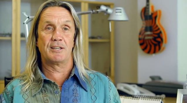IRON MAIDEN's NICKO MCBRAIN: 'I Got Down On My Knees And Said A Prayer' For BRUCE DICKINSON