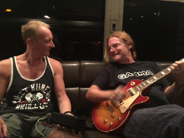 DEF LEPPARD's PHIL COLLEN Pens New Song 'Save That Goodness' For TESLA