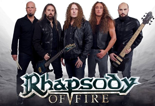 "義大利交響力金 Rhapsody Of Fire 新單曲影音 ""Rain Of Fury"""