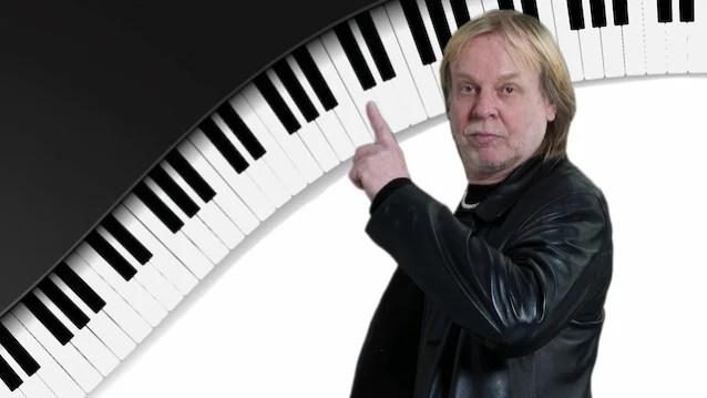 YES El asistente de teclado RICK WAKEMAN comienza a grabar un nuevo álbum instrumental de rock progresivo