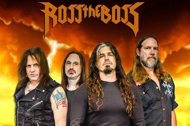ROSS THE BOSS Feat. Ex-MANOWAR Guitarist: New Lineup Announced